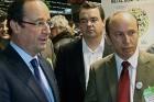 François Hollande visite notre stand au Salon Pollutec en décembre dernier
